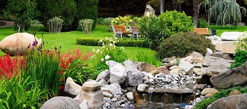 Kamienie jako ozdoba ogrodu