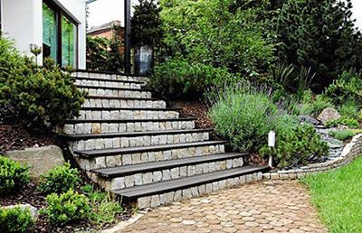 Pomysły na schody w ogrodzie