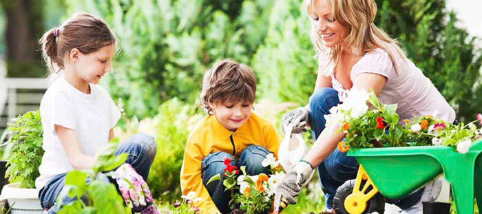 Wiosna w ogrodzie, czyli… wiadomo, w co ręce włożyć