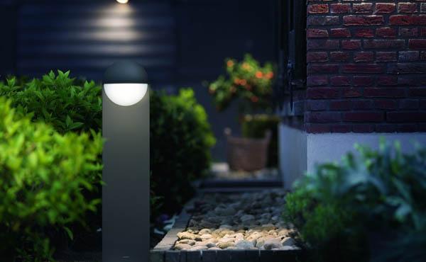oświetlenie alejek w ogrodzie