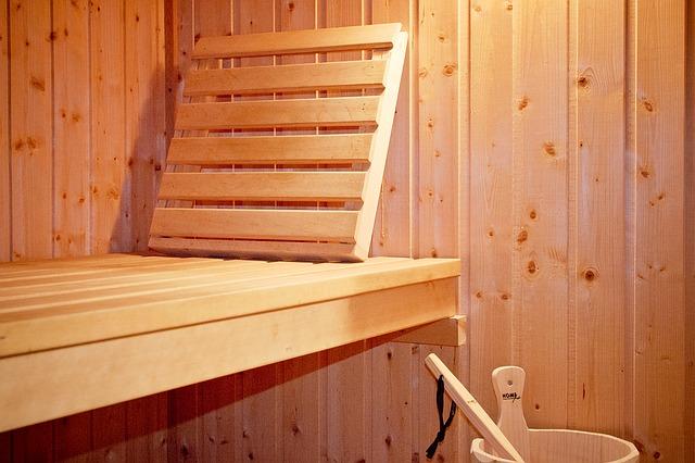 sauna fińska za domem