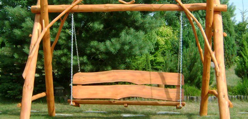 Huśtawka w ogrodzie – jak zbudować?