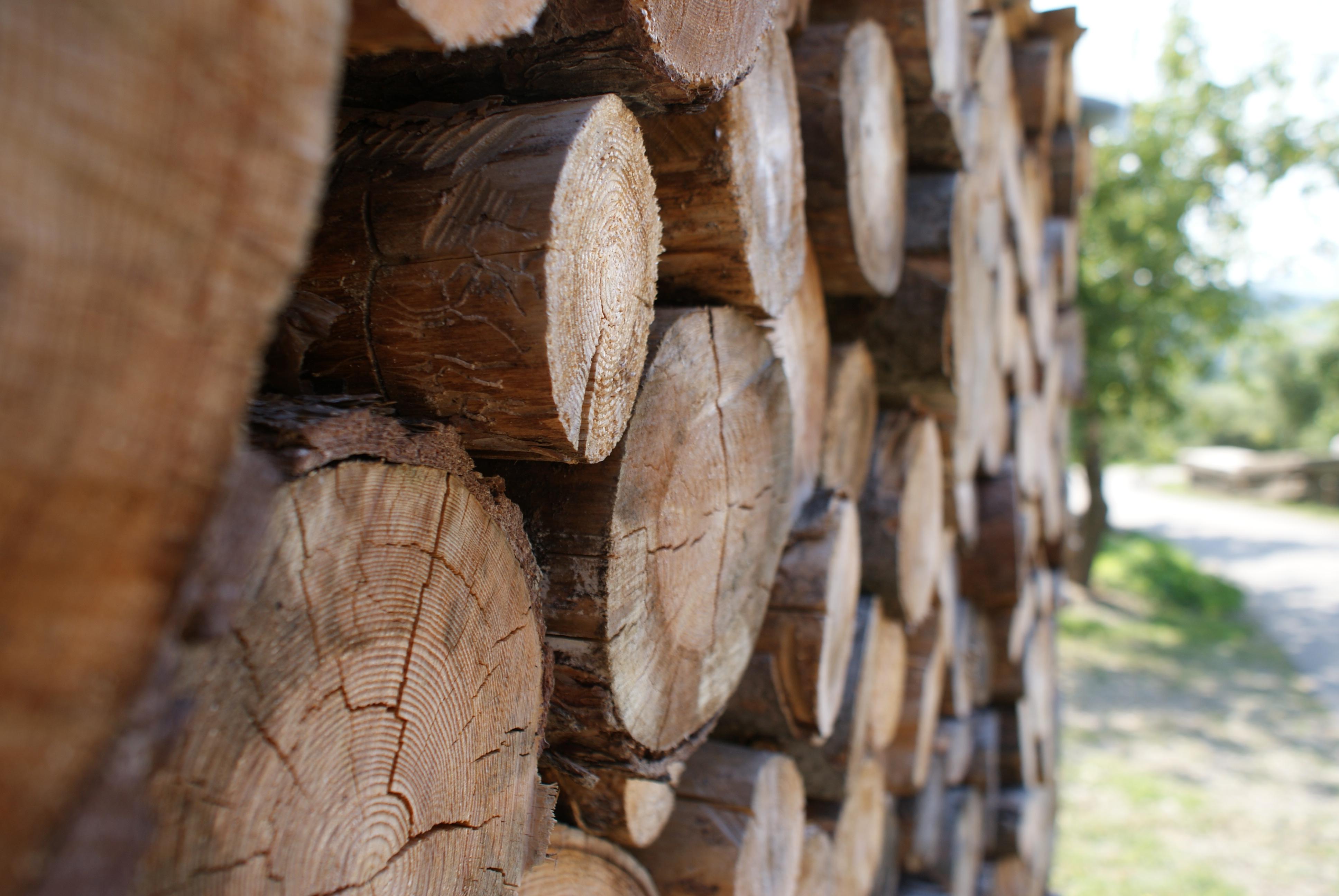 stojaki na drewno